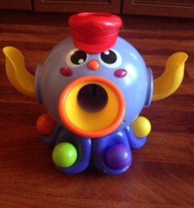 Осьминог Ouaps с шариками