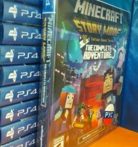 Minecraft Story Mode Sony Playstation 4 PS4