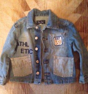Куртка детская  джинсовая,110