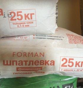 Шпатлёвка Forman финишная 25 кг