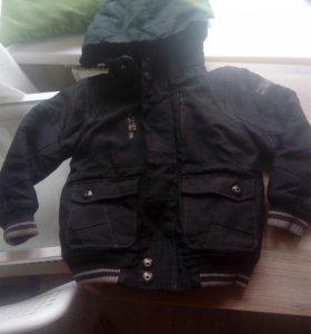 Куртка на мальчика 5лет