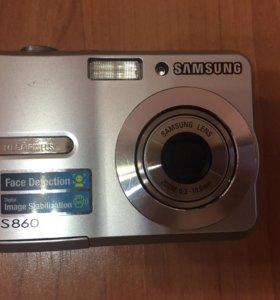 Фотоаппарат Samsung s860