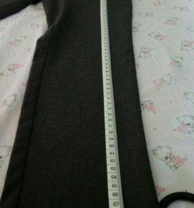Новые школьные брюки для девочки р-р116