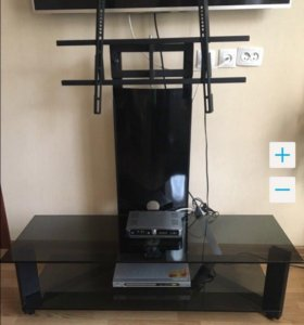 Кронштейн - тумба стойка подставка стеклянно