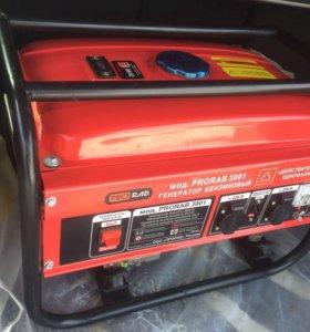 Бензиновый электрогенератор (новый)