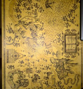 Карта гарри поттера