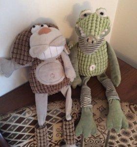Крокодил и собака