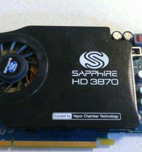 Видеокарта Sapphire HD3870
