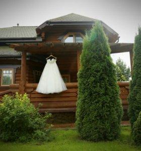 Свадебное платье+фата в подарок