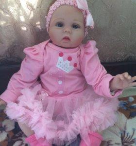 Кукла реборн Пуговка