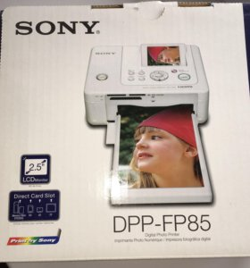 Цифровой фотопринтер sony