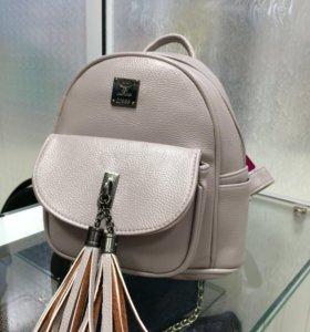Рюкзак,цвет пудра