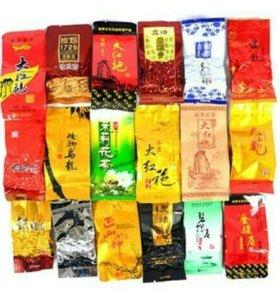 Чай китайский разные вкусы