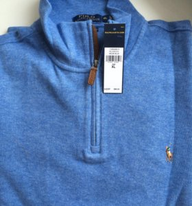 Хлопковый пуловер Ralph Lauren