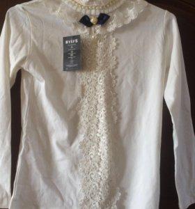 Блузка нарядная для девочки ! Новая !!