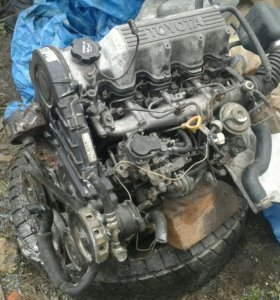 Двигатель 2с дизель с навесным