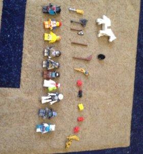 Лего(Chima,Minifigures,Movie,Hero Factory)