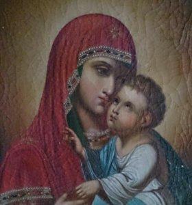 Икона Божья Матерь 18-19 век