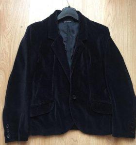 Пиджак велюровый мужской