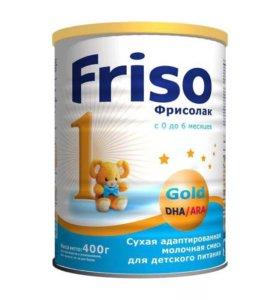 Friso молочная смесь Фрисолак 0-6м 400 г