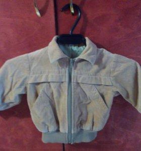 Куртка детская  вельветовая