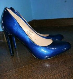 Синие туфли 37