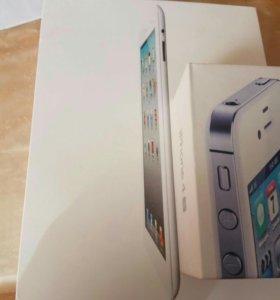Apple iPhone 4S + iPad 2
