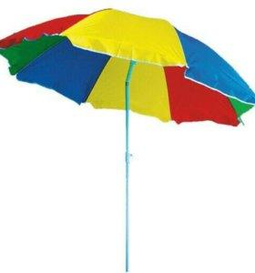 Пляжный зонт + коврик