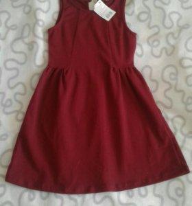 Новое платье-сарафан рост 128