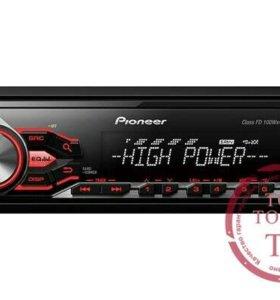 Автомагнитола Pioneer MVH-280FD 1 DIN 4x100W USB