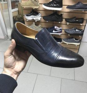 Туфли кожаные, Reindeer новые