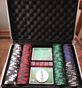 Набор для покера, б/у