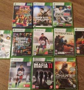 Игры для Xbox 360 в отличном состоянии