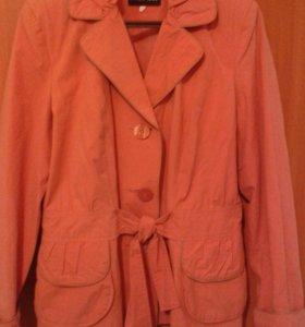 Новая ветровка пиджак р.48-50