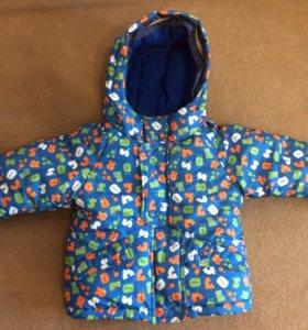 Детская куртка и комбинезон