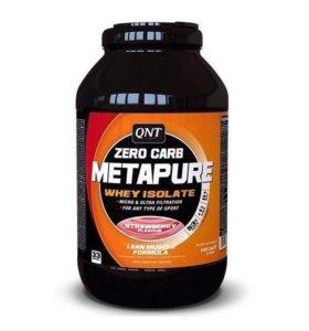 Изолят QNT METAPURE ZERO CARB, клубника, 2 кг