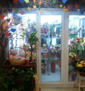 Холодильник для цветочного магазина