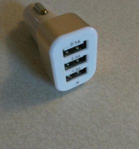 USB-зарядка в прикуриватель