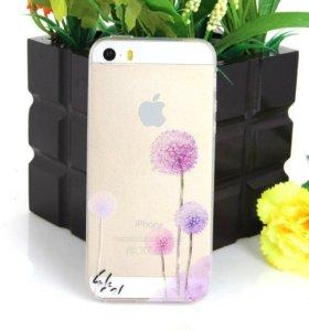 Новвй чехол на iPhone 5 5s se