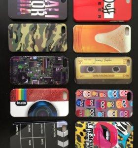 Чехлы на IPhone 5,5C,5S.