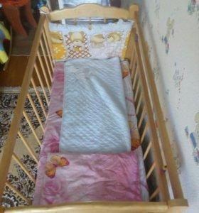 Децкая кроватка