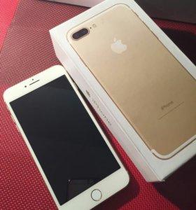 РЕПЛИКА iphone7Plus Gold