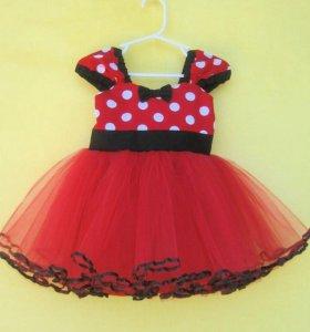 Платье детское микки маус