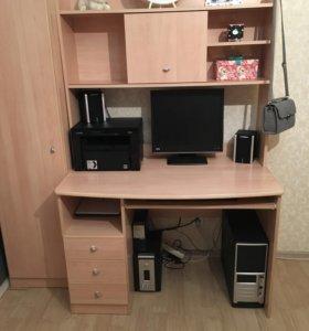Компьютерный стол + пенал