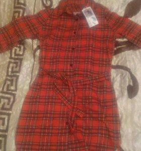 Абсолютно новое платье-рубашка