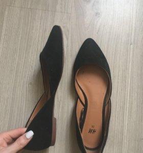 Туфли, балетки новые 36