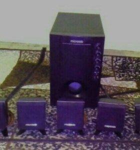 Акустическая Microlab 5 1