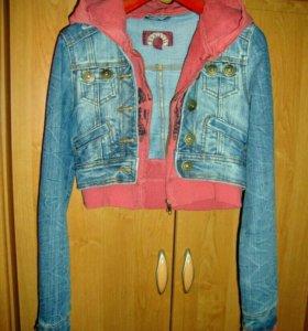Джинсовая куртка XS