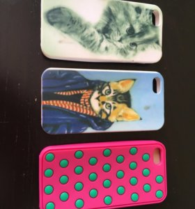 Чехлы на IPhone 5,5C,5S,SE.