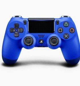 Джойстик DualShock 4 синий v.2
